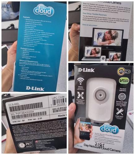camara ip vigilancia inalambrica d-link dcs 930l aprovecha $