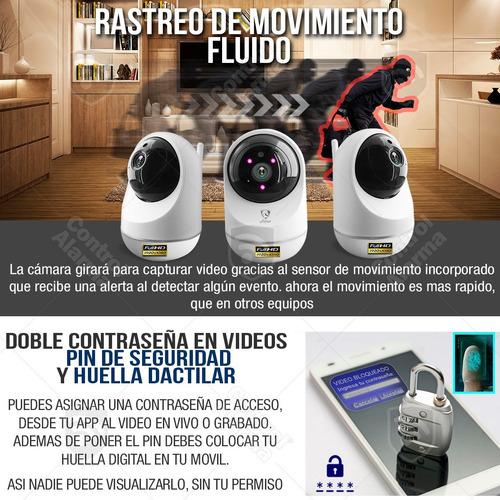 camara ip wifi 1080p deteccion nube casa seguridad dvr 128gb