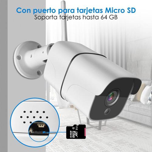 cámara ip wifi 1080p sinovision exterior audio bid p2p icsee