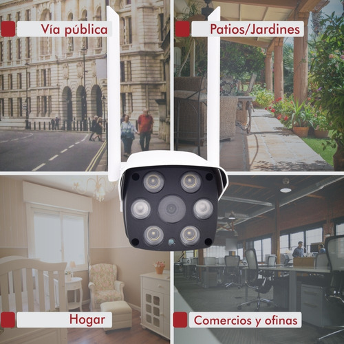 camara ip wifi de exterior seguridad vigilancia hd
