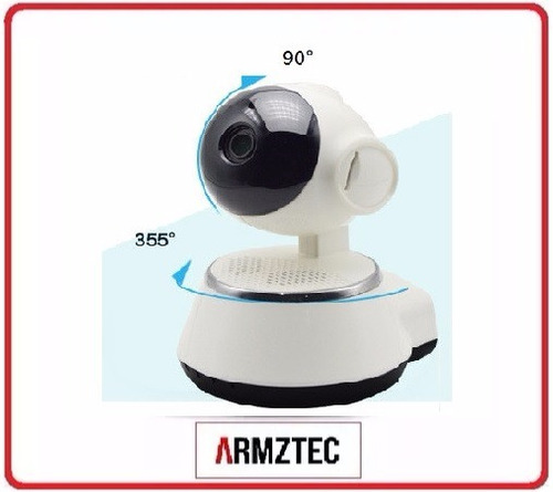 camara ip wifi espia vigilancia robotica app casa negocio hd