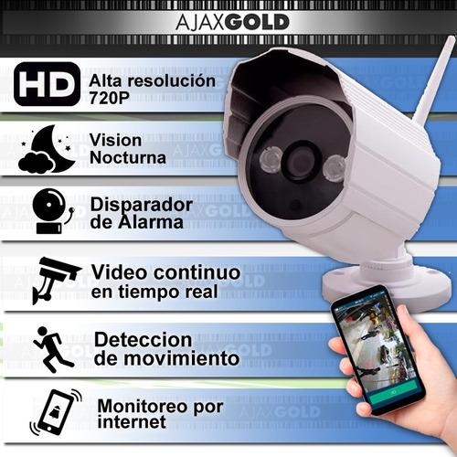 camara ip wifi exterior interior p2p infrarroja seguridad