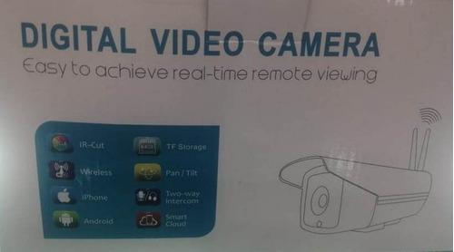 cámara ip wifi exterior visión nocturna led alarma 3mpx