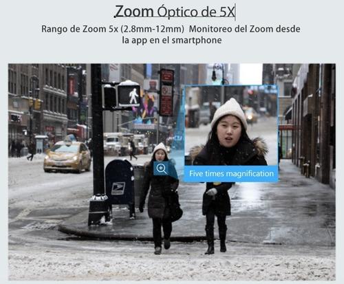 cámara ip wifi hd 2mp 1080 - zoom optico 5x - audio 2 vías