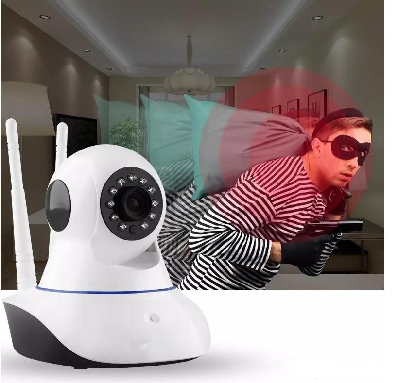 Camara Ip Wifi Inalambrica Hd Vigilancia Casa Envio Gratis