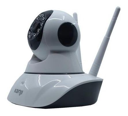 camara ip wifi kanji motorizada 2 antenas hd 720 celular p2p