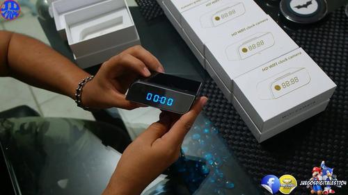 camara ip wifi reloj espia vision nocturna sensor movimiento