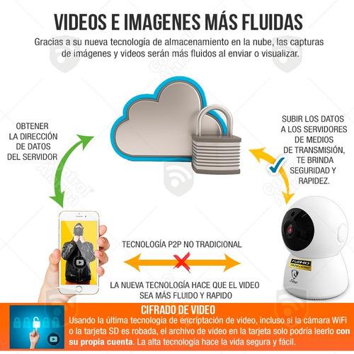 camara ip wifi robot 360 full hd nube mapeo 3d dvr 128 gb