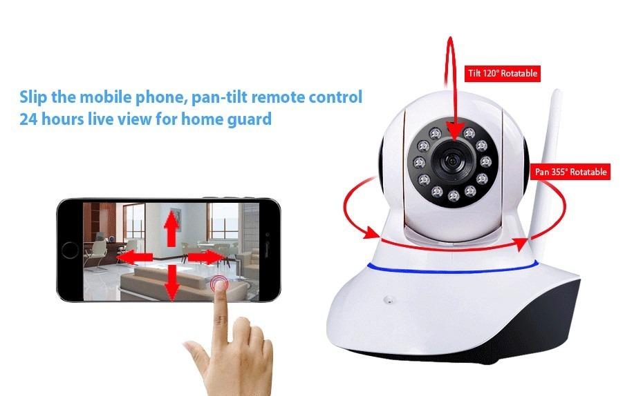 Camara ip wifi seguridad vision nocturna 2 en - Camaras seguridad ip ...