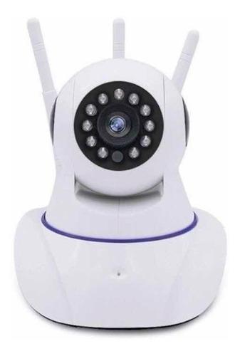 camara ip wifi vision nocturna  2mpx 3 antenas lee micro