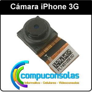 cámara iphone 3g