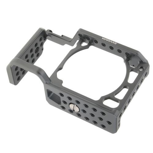 cámara jaula para sony a6000 a6300 a6500 1/4-inch 3/8-inch