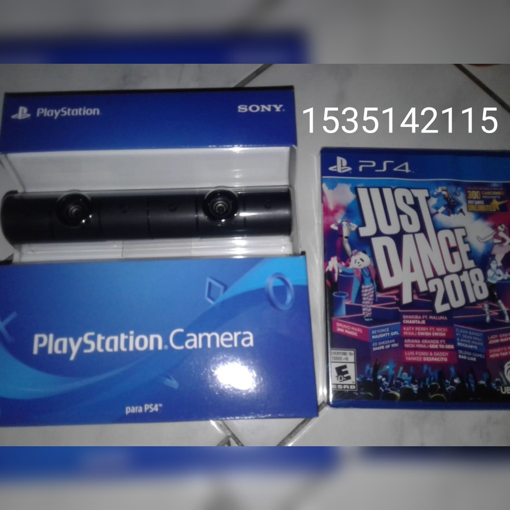 Camara Juego Just Dance 2018 Para Ps4 5 700 00 En Mercado Libre