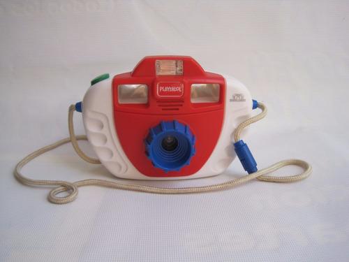 camara juguete  talking playskool vintage usada