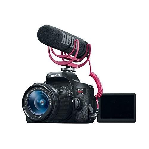 cámara kit canon eos rebel t6i video creator con lente  mm,