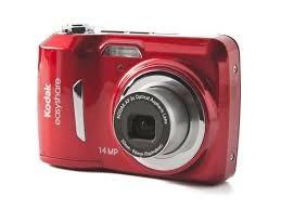 camara kodak easyshare c1530 usada color rojo 14 megapixel
