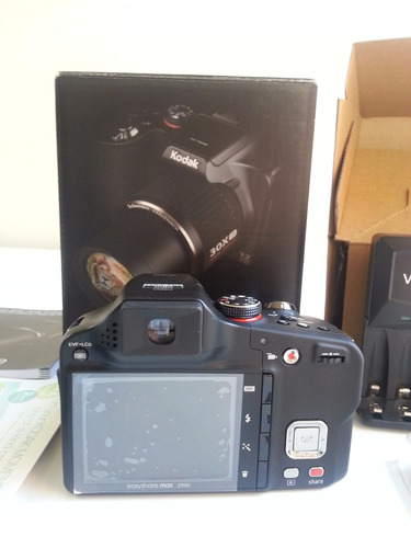 cámara kodak easyshare max z990 12mp 30x zoom