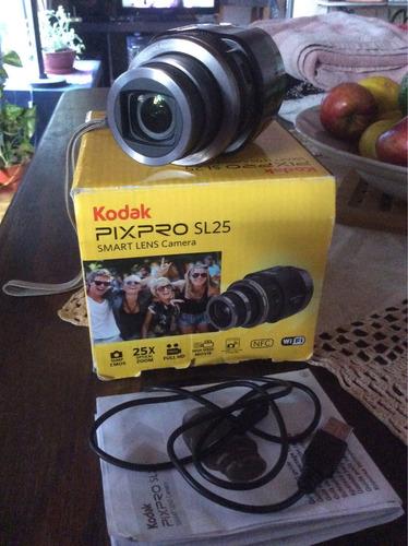 cámara kodak lente