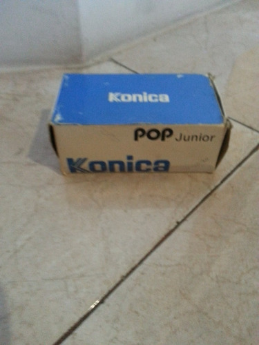 camara konica de rollo pop junior