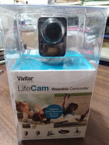 camara life cam full hd accesorios vivitar