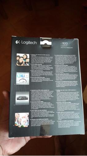 camara logitech c920 1080p nuevas