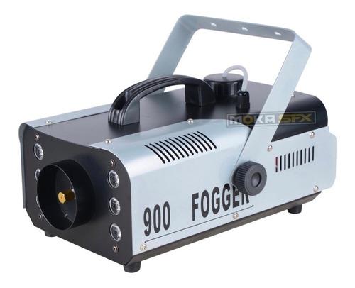 cámara máquina de humo rgb luces led 900w dj disco fiesta