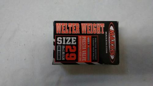 camara maxxis 29x1.9/2.35 valvula presta 32 mm - welter