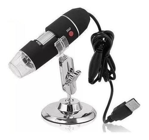 cámara microscopio digital usb x500 2mp con base