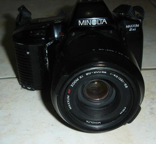 camara minolta reflex 35 mm
