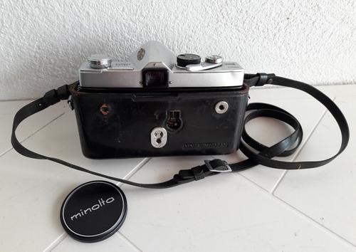 camara minolta sr-7 modelo v co-ltd y accesorios