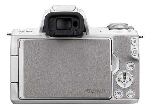 cámara mirrorless canon eos m50 ef-m 15-45mm is stm