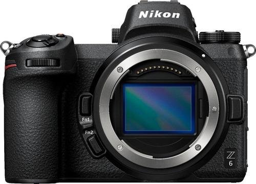 cámara mirrorless nikon z6 (sólo el cuerpo) negro