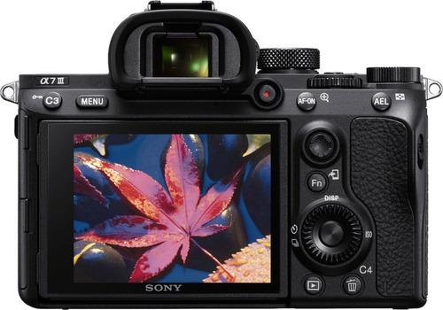 cámara mirrorless sony alpha a7 iii (sólo el cuerpo)
