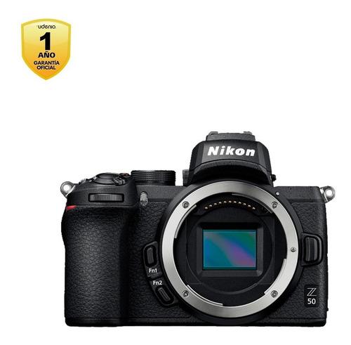 cámara mirrorless z50 (body)