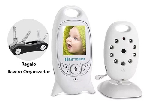 cámara monitor bebes  micrófono y visión nocturna