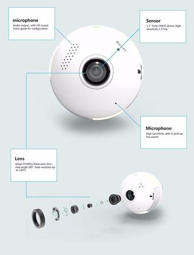 cámara monitor, inalámbrico wifi 360° audio, vídeo en tiempo