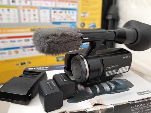 cámara nex vg 10 sony,  solo cuerpo