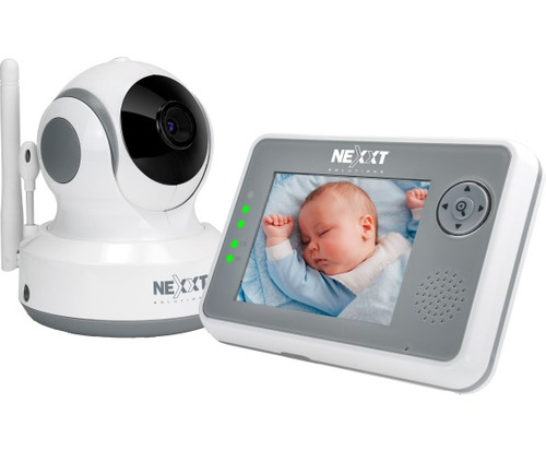 camara nexxt vigilancia p/bebé ptz+pantalla icb technologies
