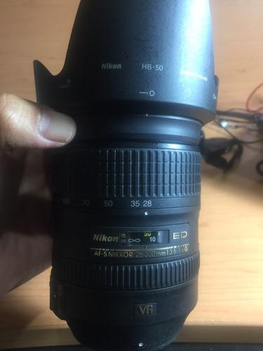 camara nikkon d810 lente 28-300mm