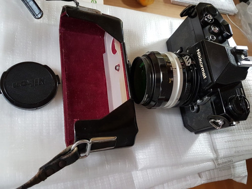 camara nikkormatic ft3
