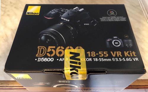 cámara nikon 5600 dsrl + lente 18-55mm nueva caja sellada