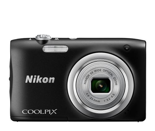 cámara nikon a100 20.1-mp ccd 5x (16 x zoom) sd sdhc sdxc