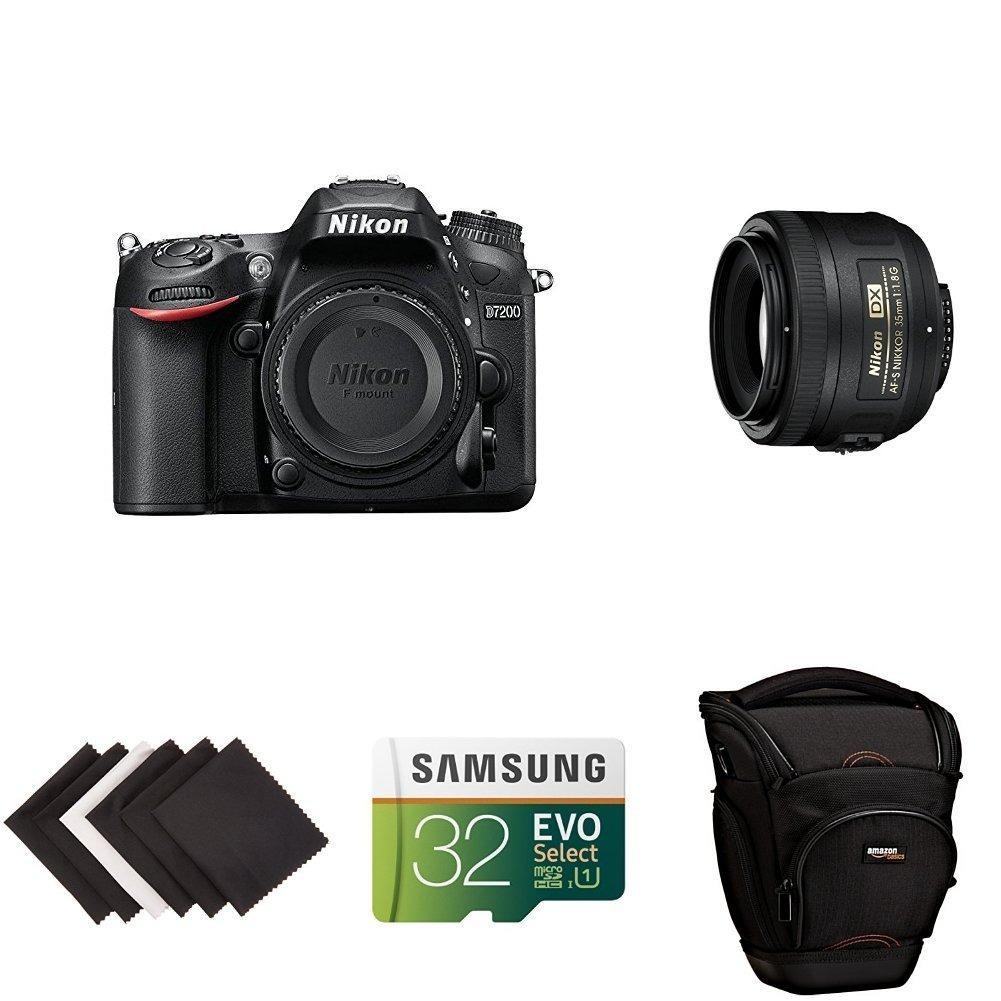 Cámara Dslr Nikon D7200 Formato Dx C Lente 53mm Y Accesorios ...