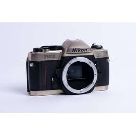 Cámara Nikon Analógica Fm10 + Lente  50mm 1.8 Serie E