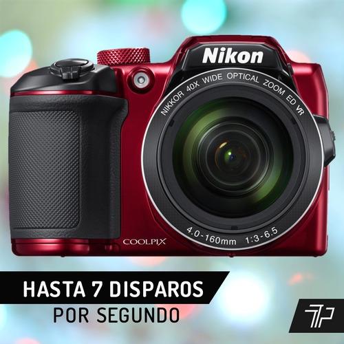camara nikon b500 40x wifi 16mp full hd zoom optic con gtia
