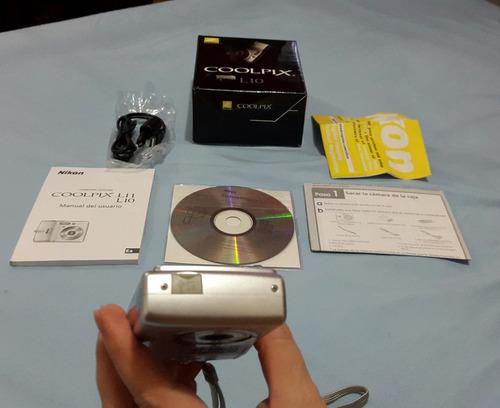 cámara nikon coolpix 5 megapixeles y todos sus accesorios