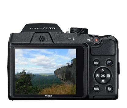 cámara nikon coolpix b500 16mpx 80x wifi nfc bluetooth 3''