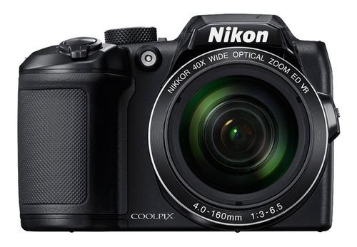 cámara nikon coolpix b500 16mpx full hd.