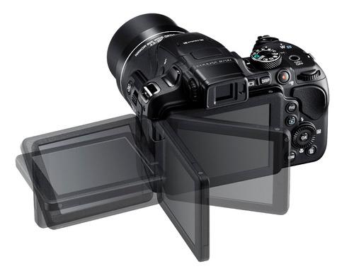 cámara nikon coolpix b700 negro super zoom