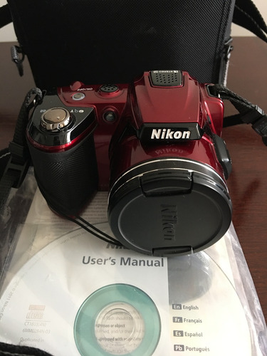 cámara nikon coolpix l120